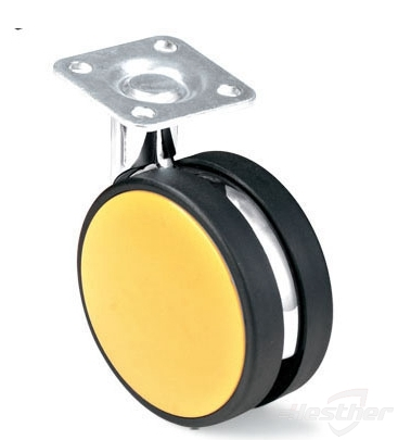 light duty smooth movement table caster