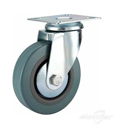 non locking plastic wheel caster replacement