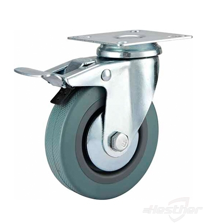 top plate plastic wheel caster replacement