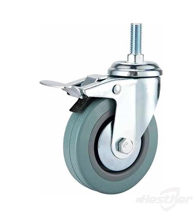 locking plastic wheel caster replacement