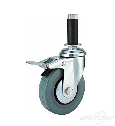 plastic wheel caster replacement PVC