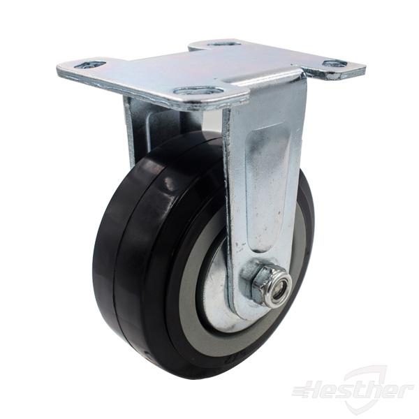 fixed PVC heavy duty caster