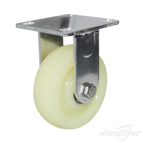 fixed nylon heavy duty caster