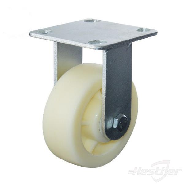 fixed nylon heavy duty caster