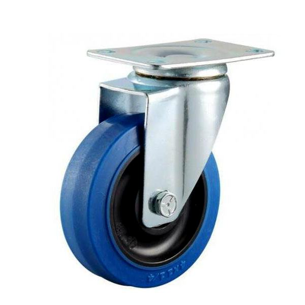 elastic rubber casters and wheels